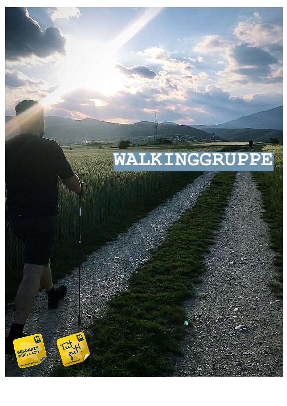 Nordic Walking nur Text