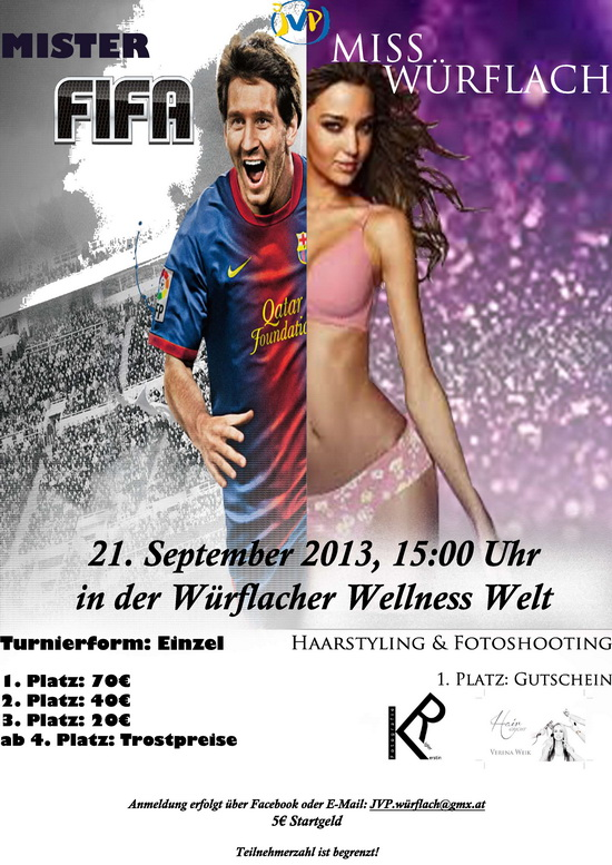 Mister FIFA Miss Wuerflach